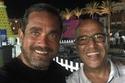 نشر الممثل أمير كرارة صورته مع الممثل أشرف عبد الباقي وكتب تعقيبا عليه