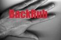 شعار (BackRub)، مشروع الأبحاث الذي أصبح يُعرف لاحقاً باسم جوجل، استُخدم منذ 1996.
