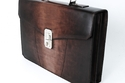 Santoni Briefcase Bag Brown