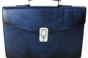 Santoni Briefcase Bag Blue
