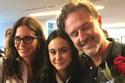 الممثلان دافيد أركيت وكورتني كوكس مع ابنتهما كوكو Coco