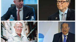 #10yearschallenge .. كيف اختلفت قائمة أغنى 10 رجال أعمال في عشر سنوات؟