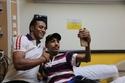 محمد رمضان مع الأطفال المرضى 2