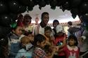 محمد رمضان مع الأطفال المرضى 1