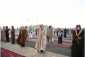 أمراء المناطق في السعودية يتقدمون المصلين في صلاة الاستسقاء