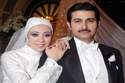 ياسر جلال وزوجته الحقيقية هبة