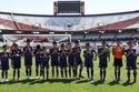 """صور: """"فتية كهف تايلاند"""" يشاركون في مباراة ودية بالأرجنتين"""