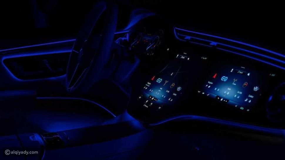 مرسيدس EQS 2022: مواصفات مدهشة وتفاعل مبهر مع الركاب بـ 4 حواس