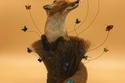 بالفرش القديمة: فنان بريطاني يظهر اللحظات الخيالية في حياة الحيوانات