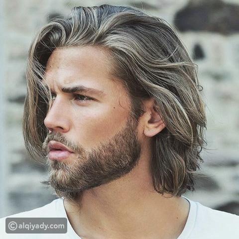 للشعر الطويل للرجال قصات شعر رجالي طويل