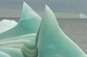 الجبال الجليدية الخضراء في قارة أنتاركتيكا 2