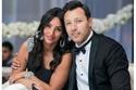 المطرب المصري أحمد فهمي وزوجته