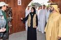 الشيخ محمد بن راشد يستمع لشرح لمكونات ومزارات سفاري دبي