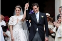 صور: حفيد نابليون بونابرت يتزوّج حفيدة إمبراطور فرنسا في حفل أسطوري