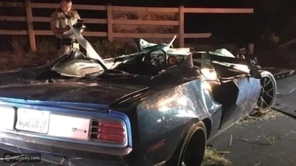 صور وفيديو: كيفين هارت يتعرض لحادث سير مروع في لوس أنجلوس