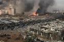 آثار التدمير الذي خلفه انفجار بيروت