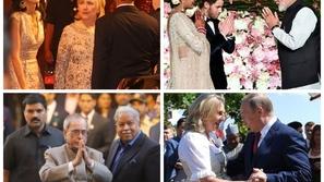 صور: قادة ومشاهير شاركوا بحفلات زفاف.. بوتين وكلينتون وكيري الأبرز