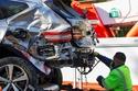 نجم الغولف تايغر وودز نجا من الموت بعد تحطم سيارته