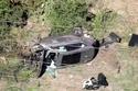 سيارة تايغر وودز تعرضت للدمار في حادث سير