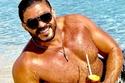 خالد سليم اشتهر بقوامه الرياضي مفتول العضلات