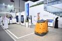 صور: لأول مرة في العالم.. دبي تستبدل عمال النظافة بـ روبوت