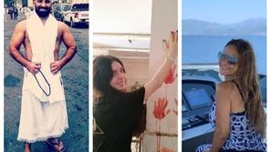 صور: هكذا قضى المشاهير العرب أول أيام عيد الأضحى