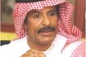 الفنان الإماراتي عبدالله بالخير في مرحلة عمرية سابقة