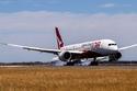 وصول الطائرة إلى مطار سيدني