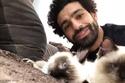 علق النجم المصري، محمد صلاح، لاعب نادي ليفربول الإنجليزي
