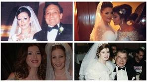 صور عفوية للنجوم والنجمات في حفلات زفاف أبنائهم وبناتهم