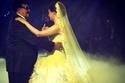 الفنان سمير غانم في حفل زفاف ابنته دنيا سمير غانم