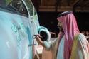 الأمير محمد بن سلمان يُدشن أول طائرة تدريب عسكرية سعودية 1