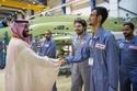 الأمير محمد بن سلمان يُدشن أول طائرة تدريب عسكرية سعودية 2