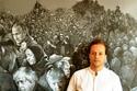 فيديو وصور: رسام سوري يحول قادة العالم إلى لاجئين