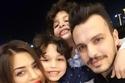الموزع الموسيقي أحمد إبراهيم مع زوجته السابقة ياسمين عيسى