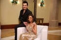 أحمد إبراهيم مع زوجته الفنانة أنغام