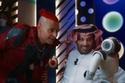 رامز جلال مع المستشار تركي آل الشيخ