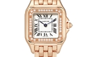 CARTIER Panthère de Cartier 22mm small 18-karat pink gold diamond watc