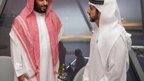 شاهد: الأمير محمد بن سلمان يشهد ختام منافسات الفورمولا 1