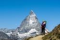 2- جبال ماترهورن في سلسلة جبال الألب - سويسرا