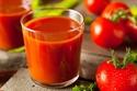 تناول عصير الطماطم غير المملح لفترة طويلة