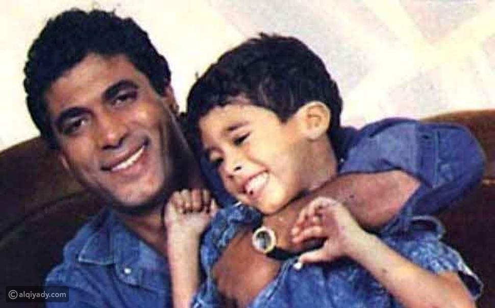 هيثم أحمد زكي ووالده أحمد زكي