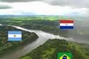 الحدود بين الأرجنتين والبرازيل وباراجواي