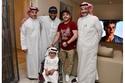 تركي آل الشيخ ومحمد هنيدي والطفل
