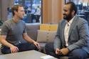 إطلالة الأمير محمد بن سلمان خلال لقائه مع مؤسس فيسبوك
