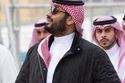إطلالة الأمير محمد بن سلمان خلال فعاليات سباق فورمولا إي