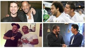مشاهير في الفن والرياضة ربما لا تتوقع أنهم أفضل أصدقاء