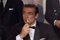 شون كونري خلال تجسيده لجيمس بوند 007 في فيلم دكتور نو عام 1962