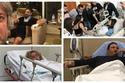 مشاهير عرب أصيبوا بأمراض خطيرة وآخرون تعرضوا لأزمات صحية حرجة في 2019