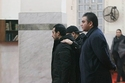إيهاب توفيق يستعد لصلاة الجنازة على والده